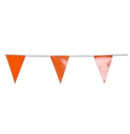 Vlaggenlijn oranje eco 10m
