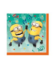 Minions servetten verjaardag