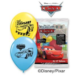 Cars ballonnen 6 stuks