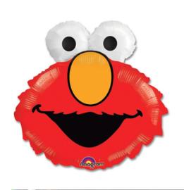 Elmo gezicht folie ballon 51x46cm