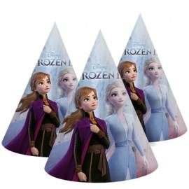 Frozen 2 feesthoedjes 6 stuks