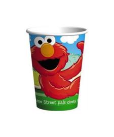 Elmo bekers 8 stuks 250ml