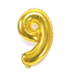 Folie ballon verjaardag 9 jaar