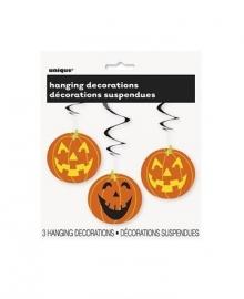 Hangdecoratie Halloween pompoen