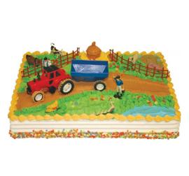 Boerderij taart versiering set