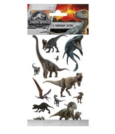 Jurassic World tattoes vel