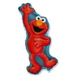 Elmo Sesamstraat folie ballon 83cm