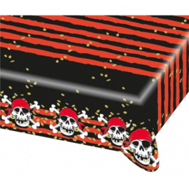 Piraten tafelkleed plastic 120x180cm