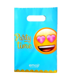 Emoji feestzakjes 10 stuks