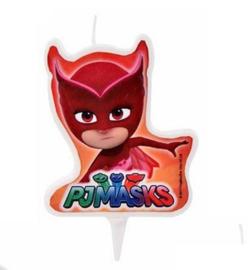 PJ Masks kaars rood 7cm