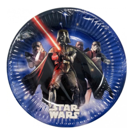 Star Wars borden 8 stuks 19,5cm