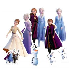 Frozen 2 versiering tafel set 9 stuks