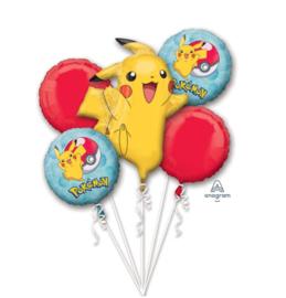 Pokemon ballonnen set 5 stuks