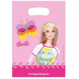 Barbie uitdeelzakjes 6 stuks