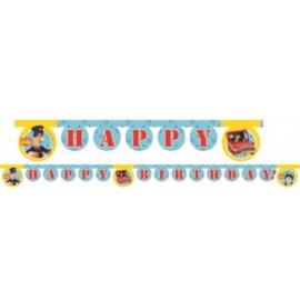 Pieter Post letterslinger Happy Birthday