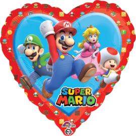 Super Mario folie ballon hart 35cm