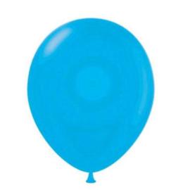 Ballonnen lichtblauw 10 stuks 30cm