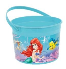 Zeemeermin Ariel container plastic 12cm