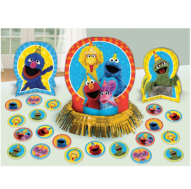Sesamstraat tafel versiering set