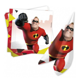 The Incredibles servetten 20 stuks 33x33cm