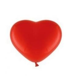 Ballonnen rood harten 10 stuks