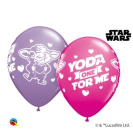Star Wars Yoda ballonnen 5 stuks