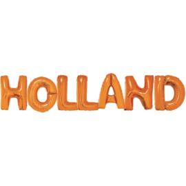 Holland folieballon voetbal 37cm