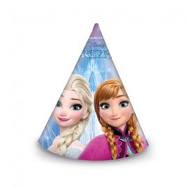 Frozen feesthoedjes 6 stuks