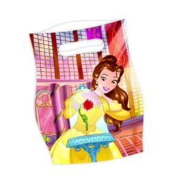 Belle en het Beest uitdeelzakjes 6st