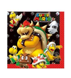 Super Mario servetten 20 stuks