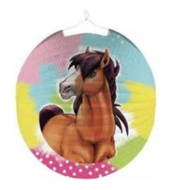 Paarden lampion 25cm