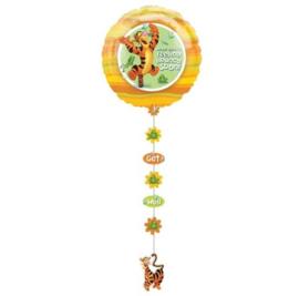 Winnie de Poeh tijgertje folie ballon 60cm