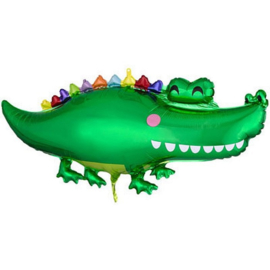 Krokodil folie ballon 106cm