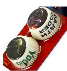 Star Wars cupcake vormpjes 50st 7x5cm