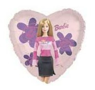 Barbie folie ballon 61cm