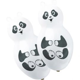 Panda ballonnen 4 stuks