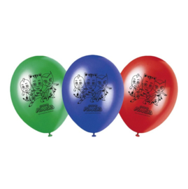 PJ Masks ballonnen 8 stuks