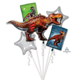 Jurassic World ballonnen set 5 stuks