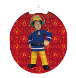 Brandweerman Sam lampion 25cm