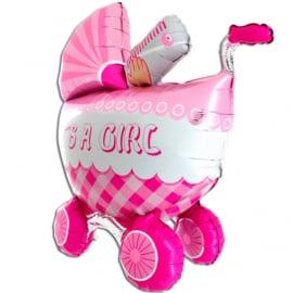 Buggy it is a girl 3D folie ballon 106cm