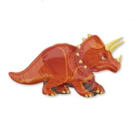 Triceratops dino folie ballon 106x60cm
