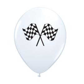 Formule 1 ballonnen 6 stuks 25cm