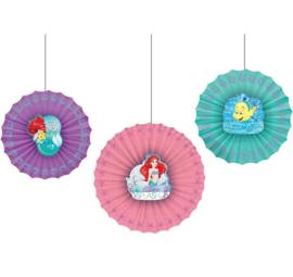 De kleine zeemeermin hangdecoratie 3 stuks