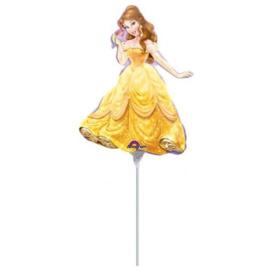 Belle folie ballon op stok 30cm