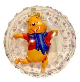 Winnie de Poeh folie ballon doorzichtig 60cm