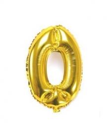 Folie ballon verjaardag 0 jaar