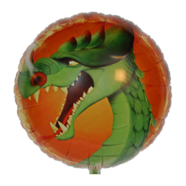 Sprookjesboom draak folie ballon 45cm