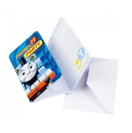 Thomas de trein uitnodigingen