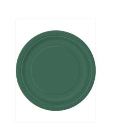 Borden groen 18cm 8 stuks