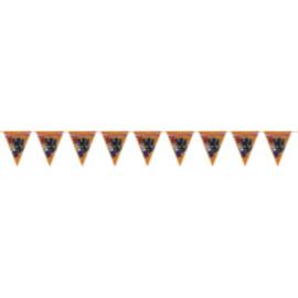 Oranje leeuw vlaggenlijn 6m papier